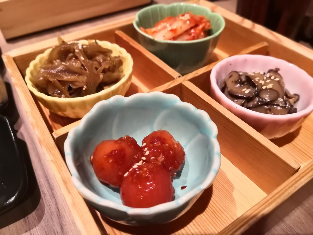 キムチ盛り合わせ 新日本焼肉党 クアラルンプール