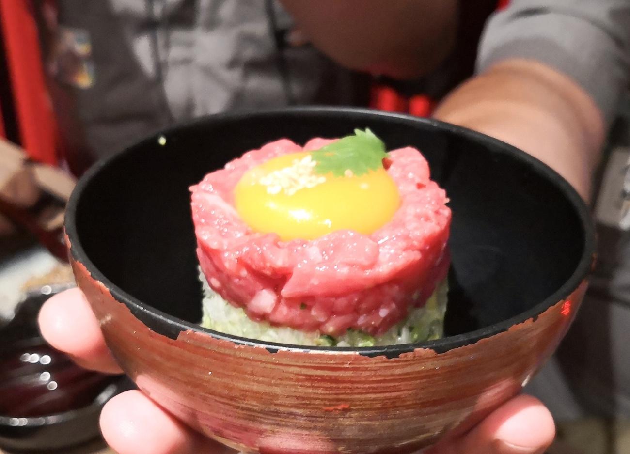 ユッケが食べられる新日本焼肉党クアラルンプールグルメ