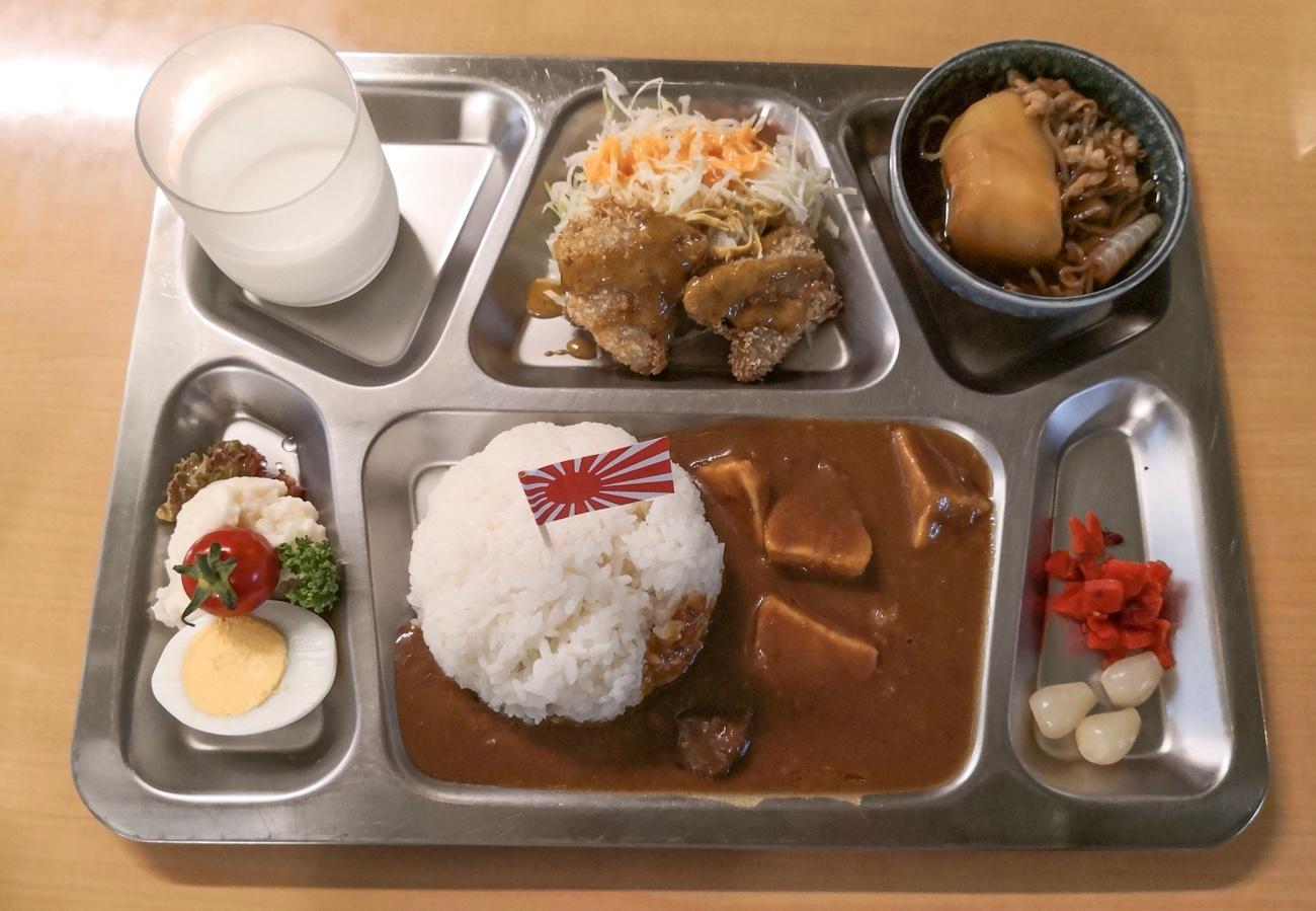 呉ハイカラ食堂の海自カレー 呉グルメおすすめブログ