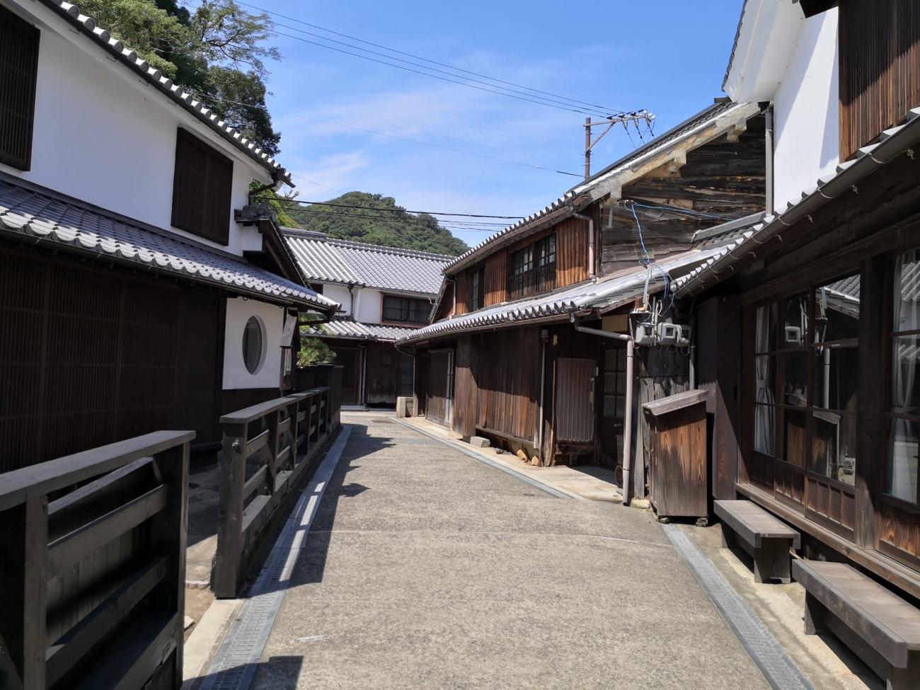 とびしま海道 江戸時代 御手洗地区