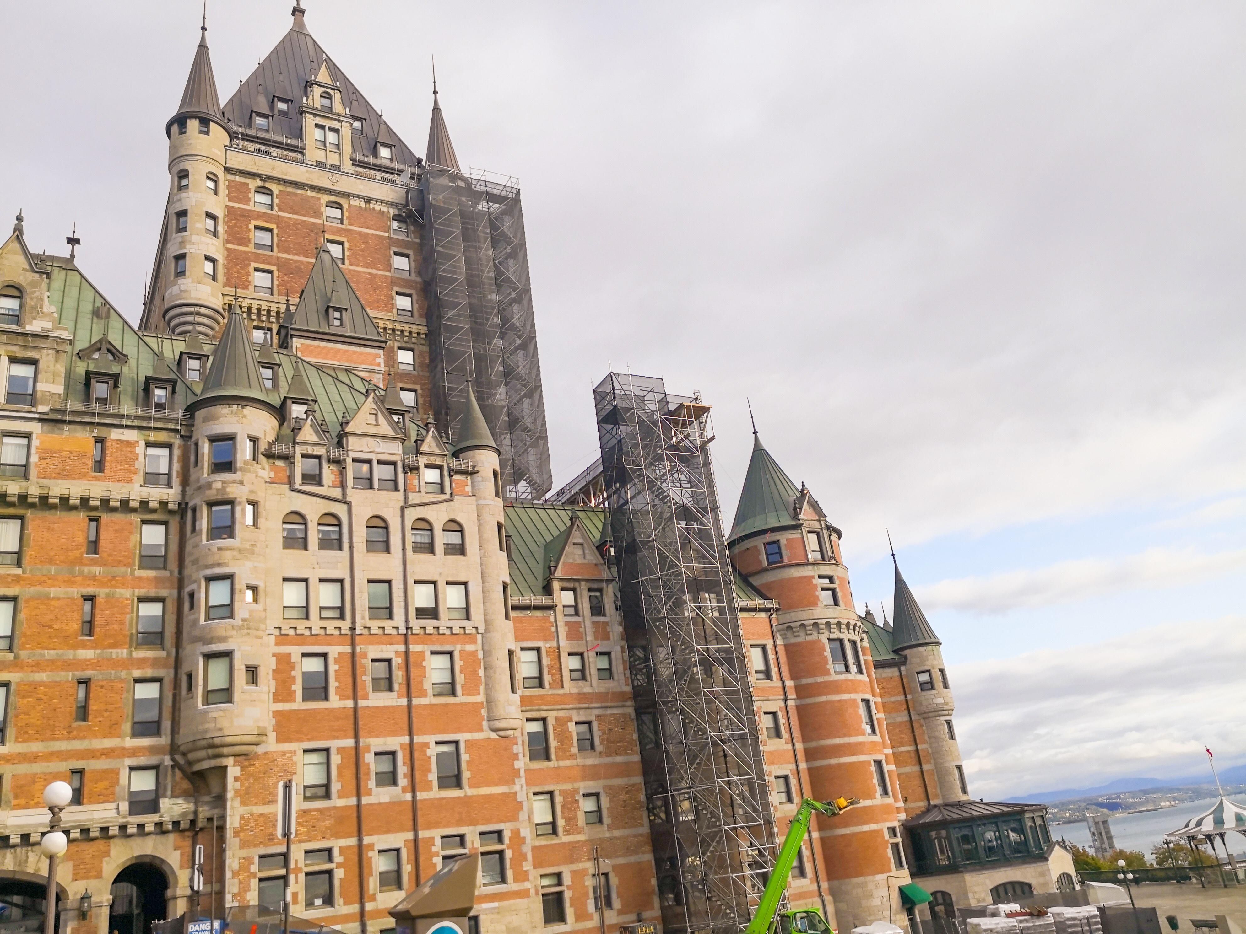 シャトーフロンテナック お城ホテルケベックシティ観光におすすめのホテル