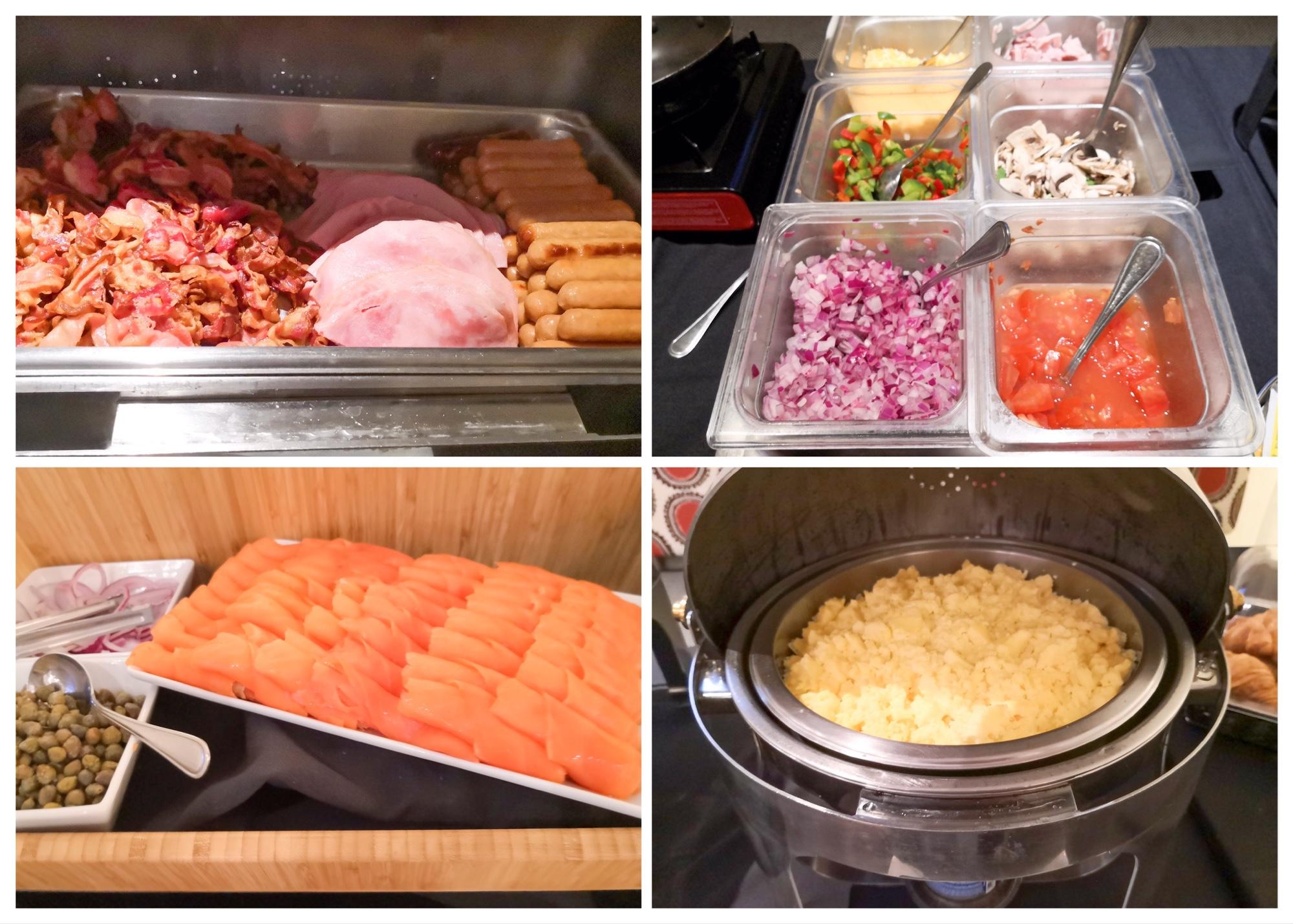 ローレンシャン観光 モントランブラン ホテルの朝食ビュッフェ