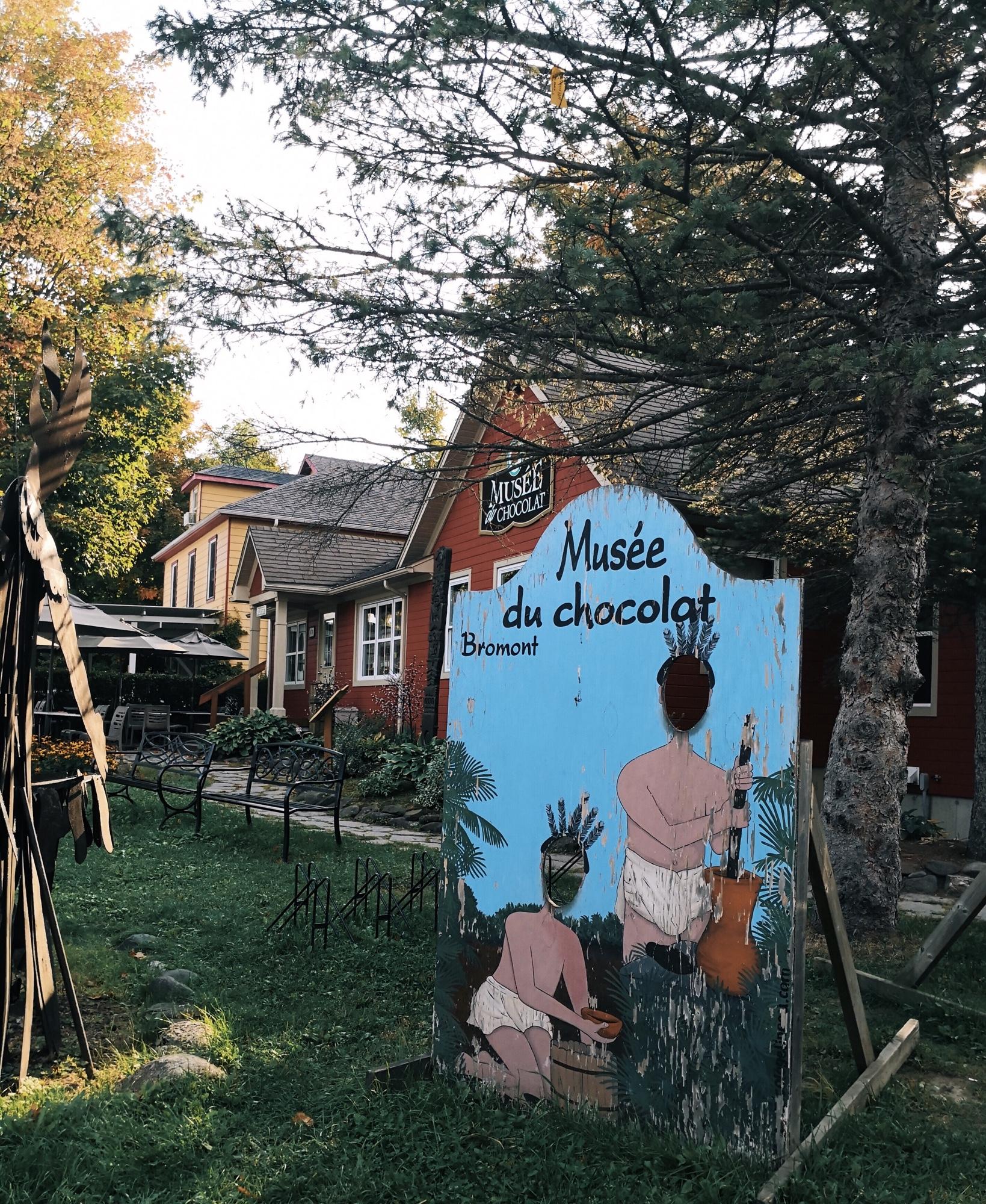 ブロモン(Bromont)のチョコレート専門店