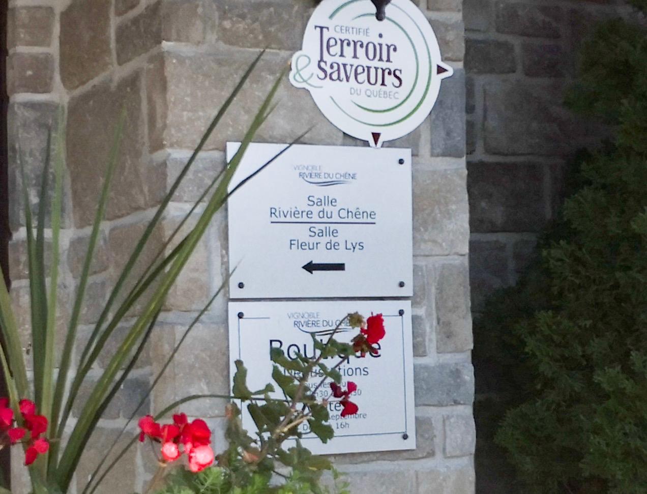 vignoble riviere du chene ローレンシャンおすすめのレストランとワイナリー