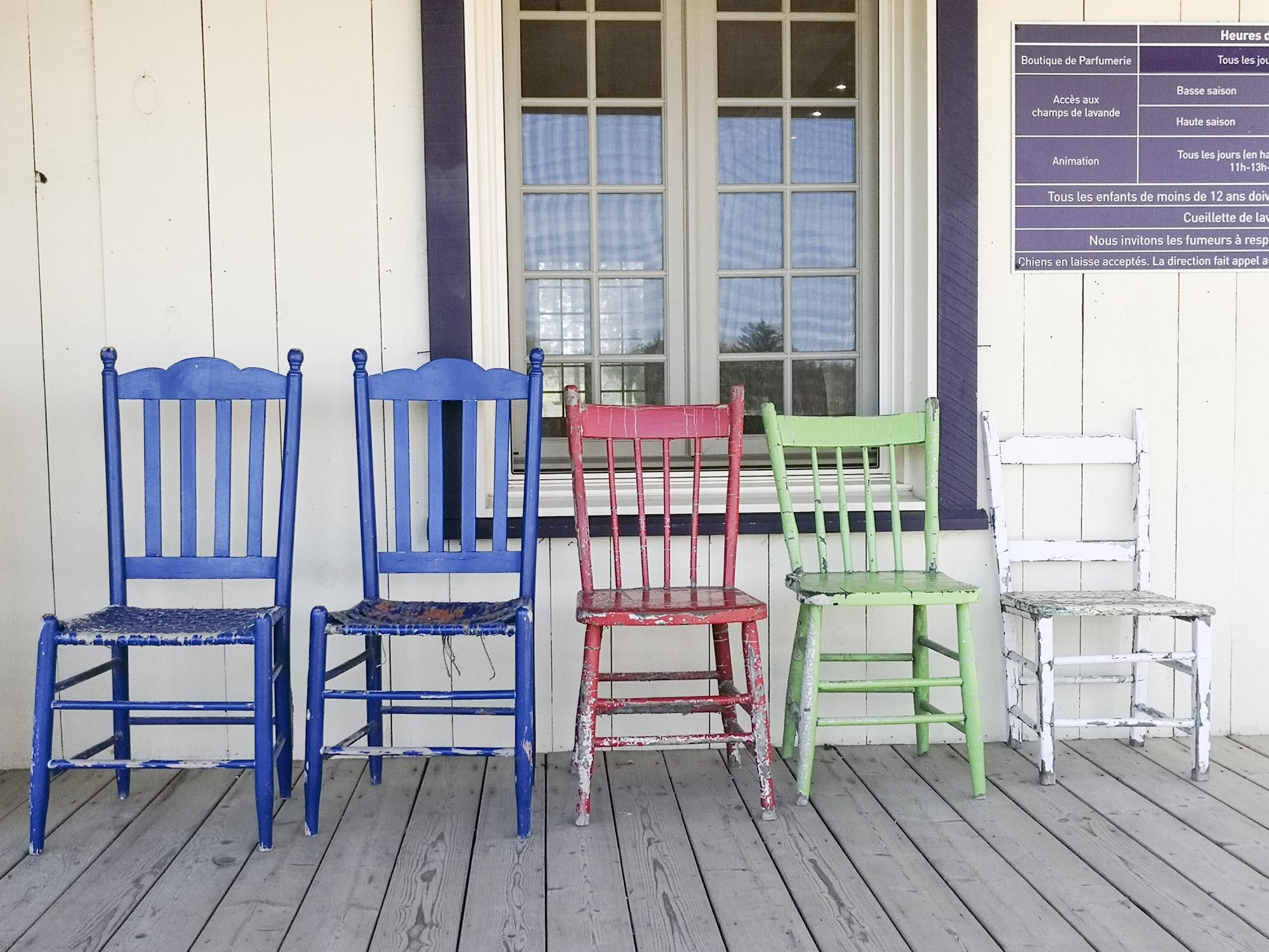 インスタ映えする椅子
