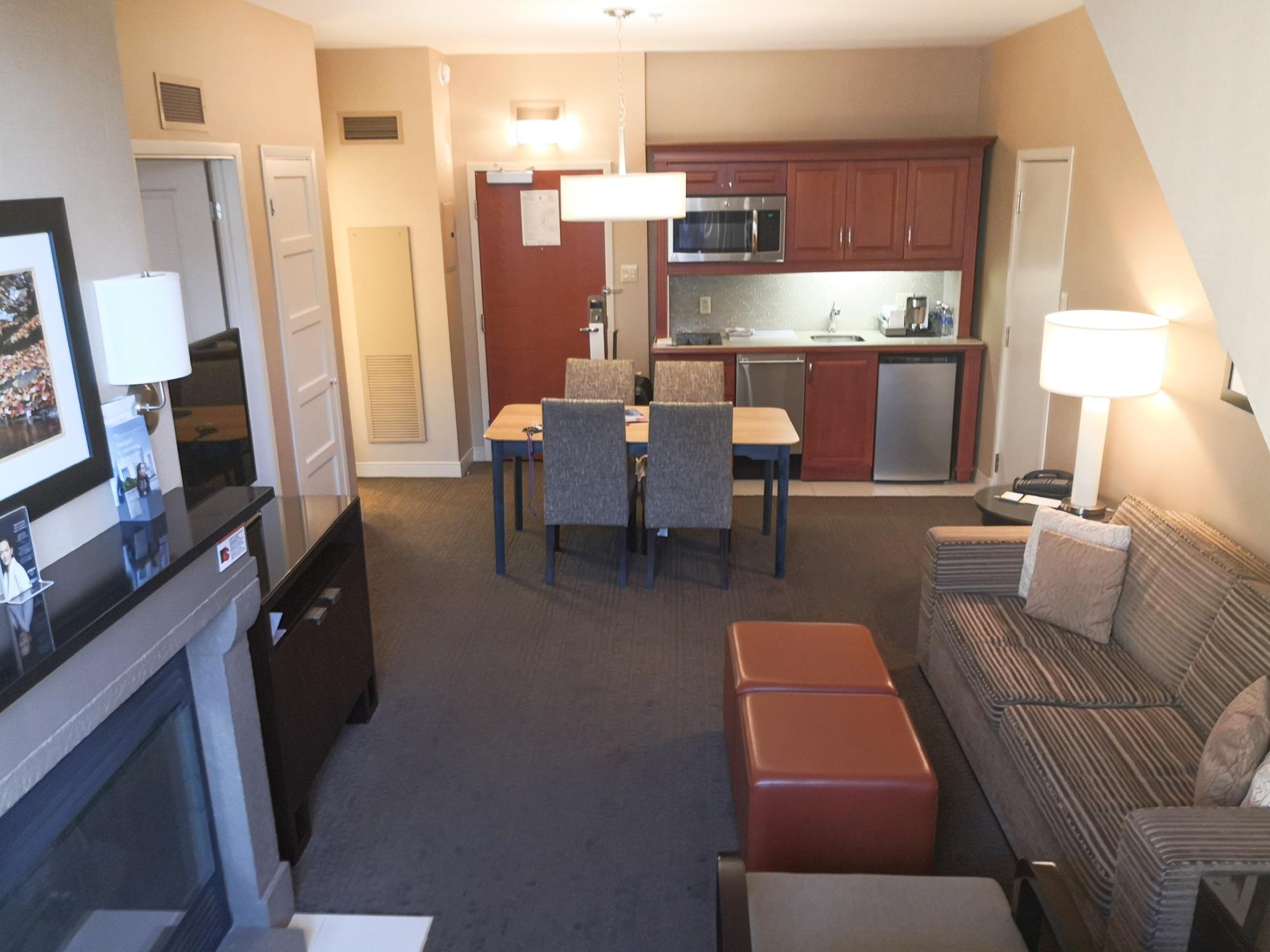 リビングルーム ウェスティンホテル モントランブラン