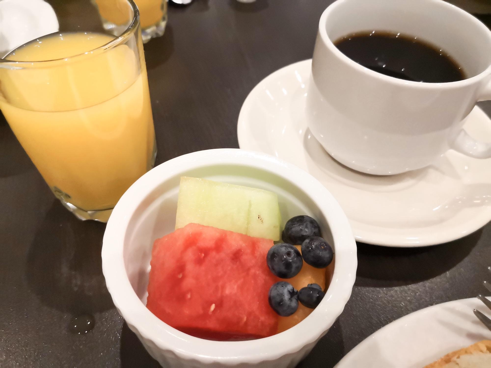 朝食ビュッフェウェスティンホテル モントランブラン
