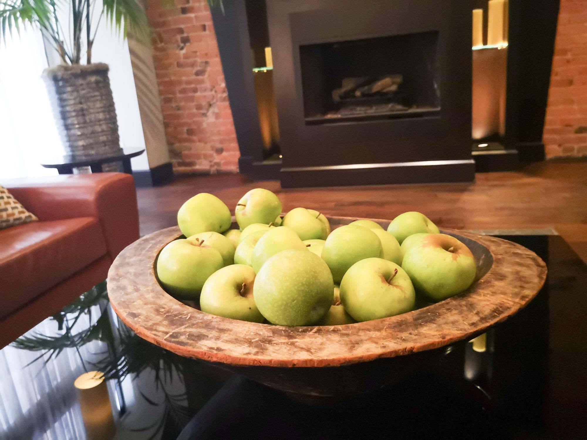 カナダのリンゴ生産量