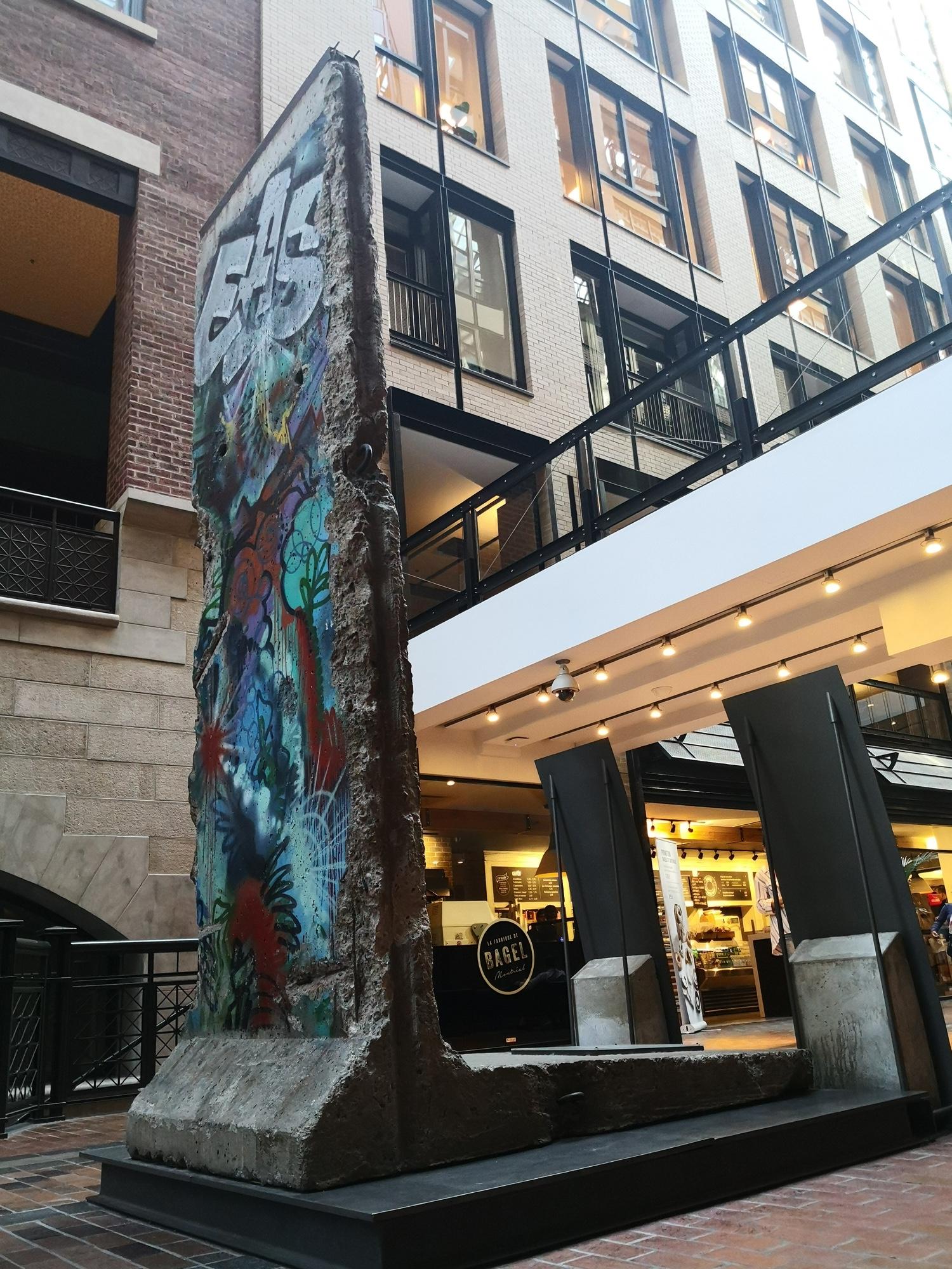モントリオール ベルリンの壁