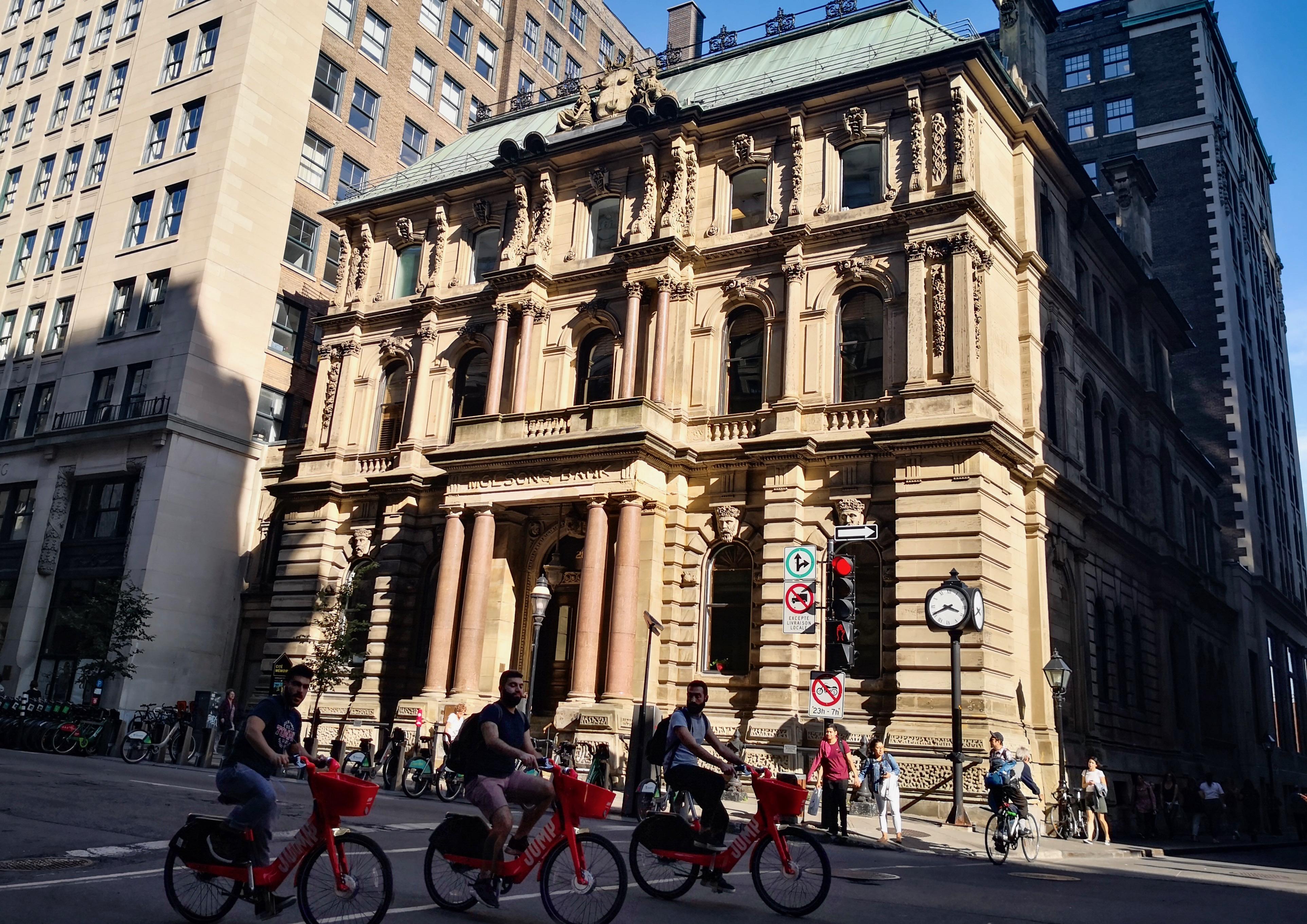 モントリオール モルソン銀行