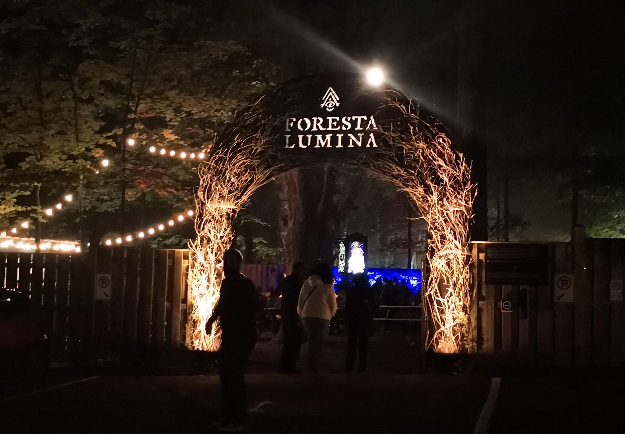 イースタンタウンシップス 夜の観光 フォレスタルミナ