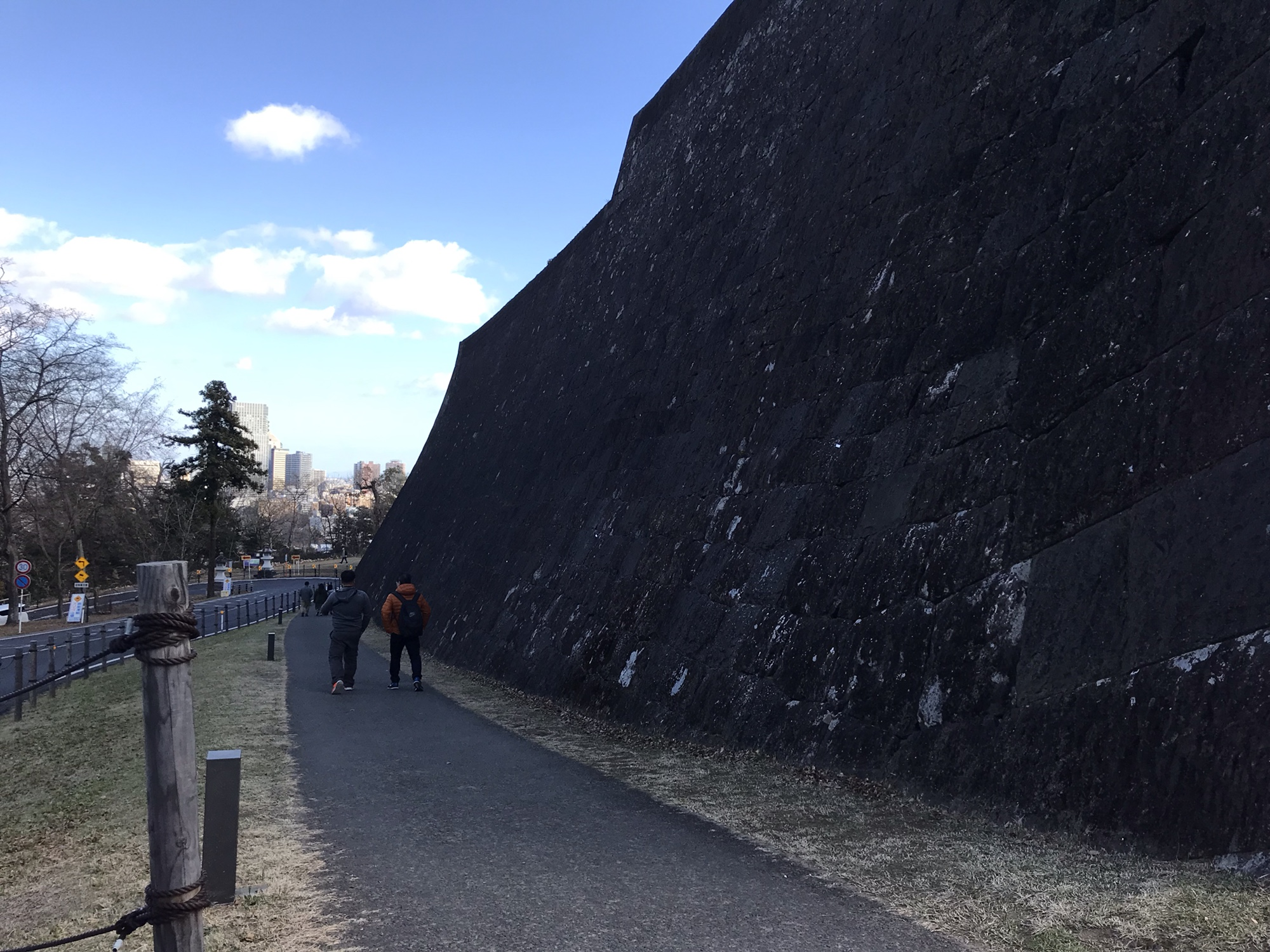 仙台城 青葉城城壁 石垣