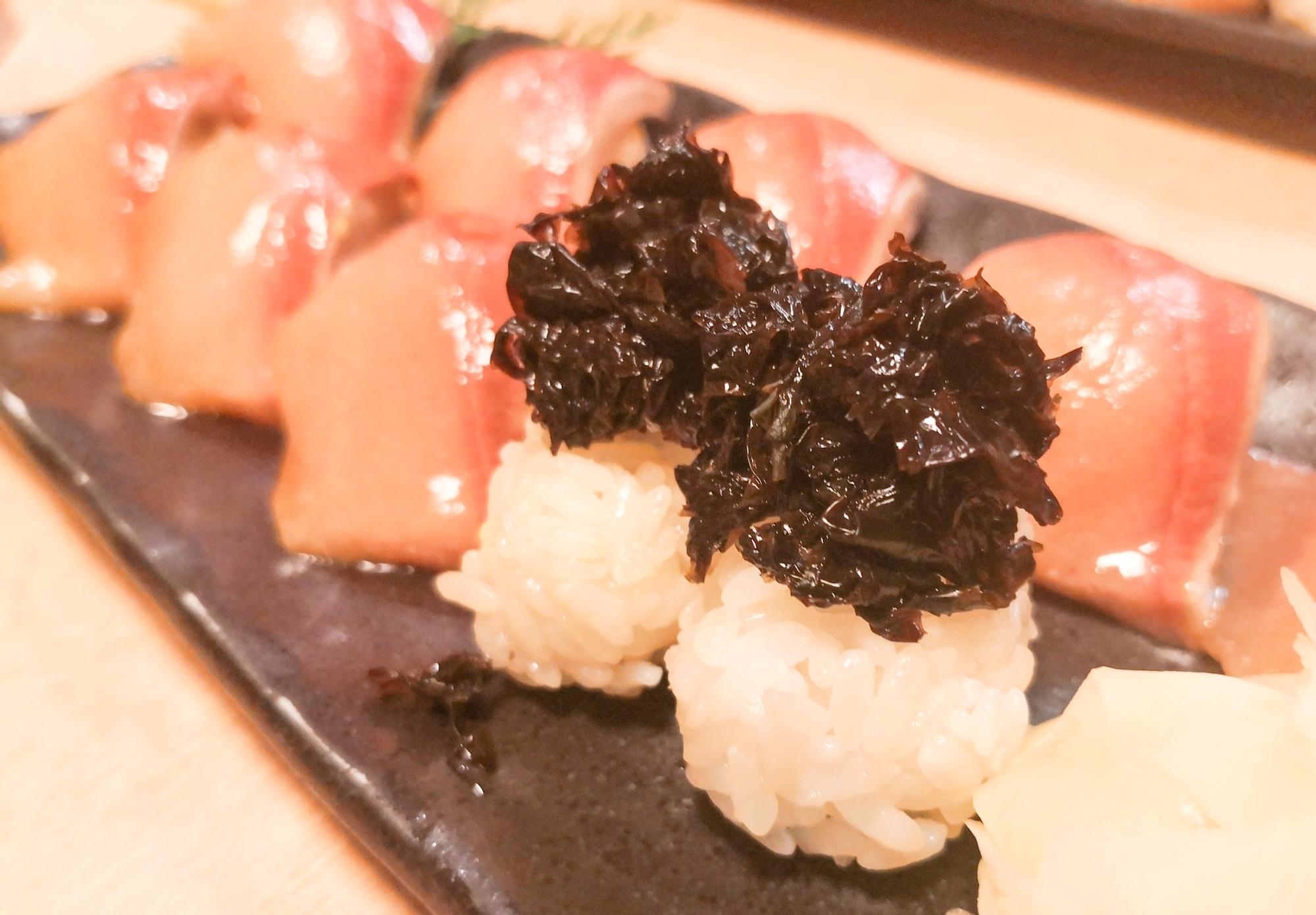 島寿司とあおさ寿司