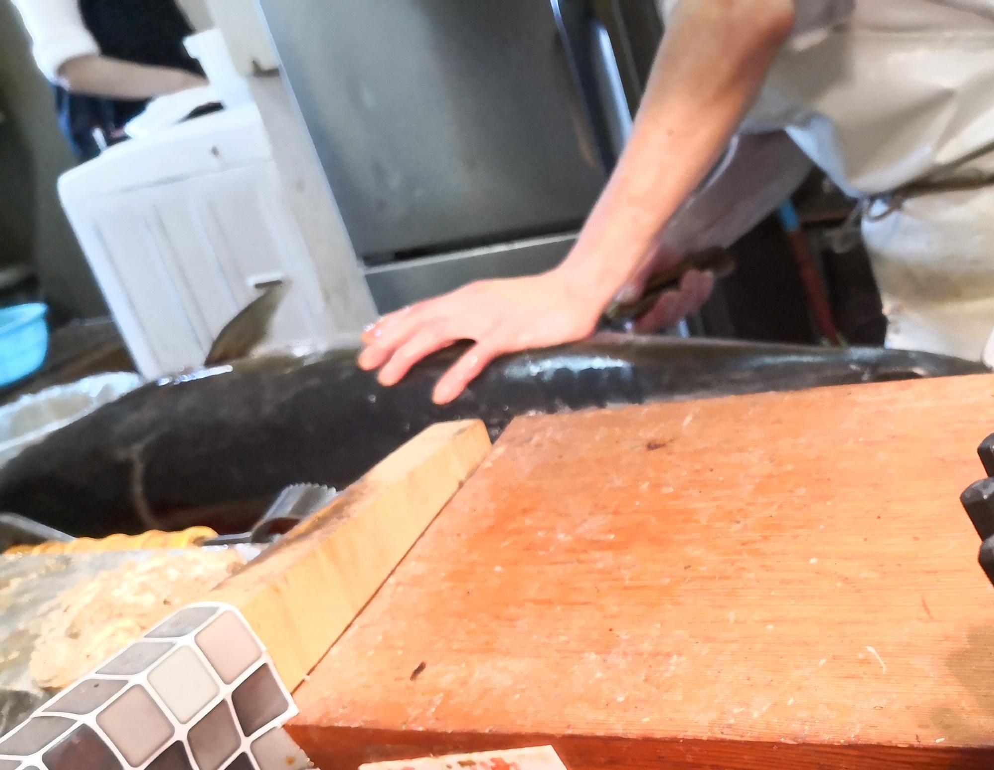福岡グルメ朝食 鮮魚市場 おきよ食堂