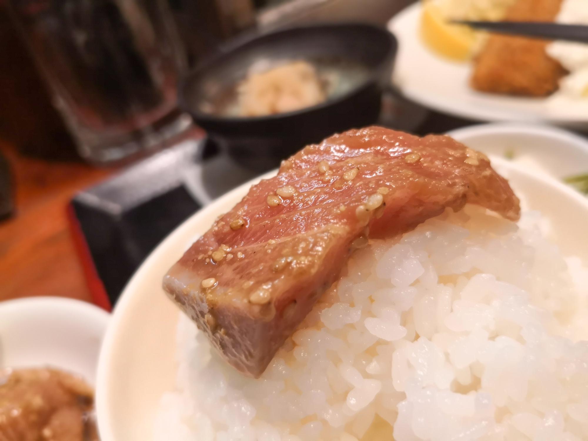 福岡ご当地グルメ 郷土料理 ごま鯖 定食 おきよ食堂 朝ごはん