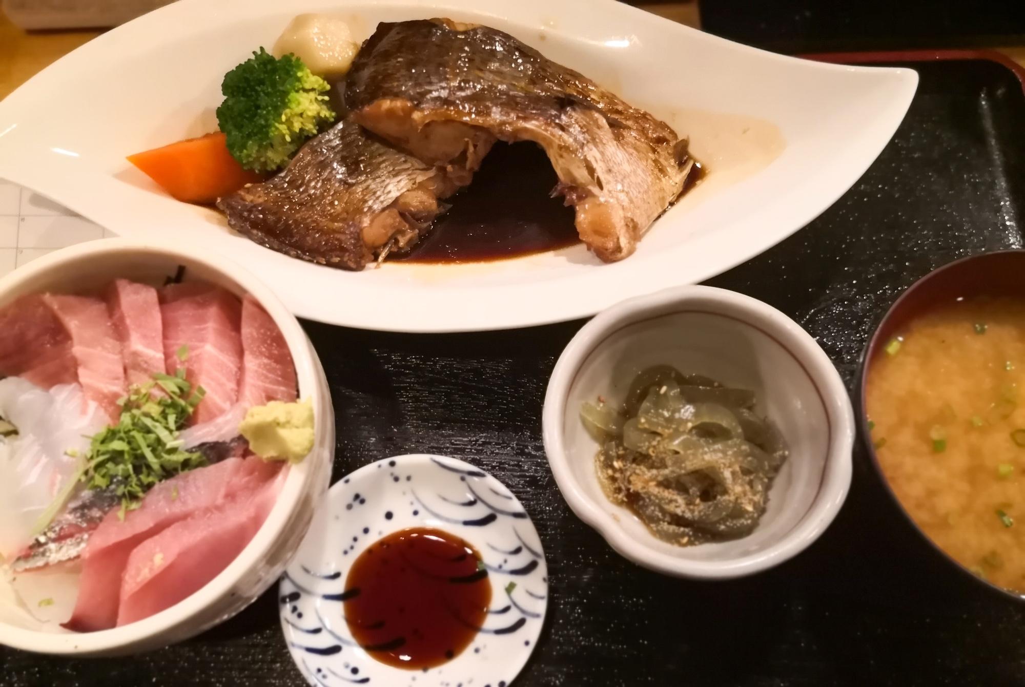 博多魚がし 鮮魚市場 メニュー