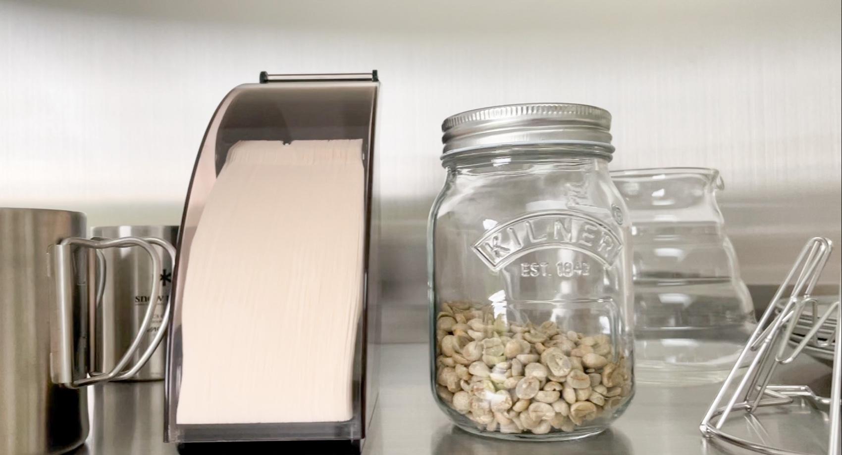 コーヒー生豆から焙煎